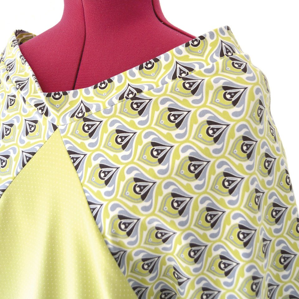 f917be126 Vestido japonés verde lima ❤ Moda Sostenible Barcelona ❤ Ropa ...