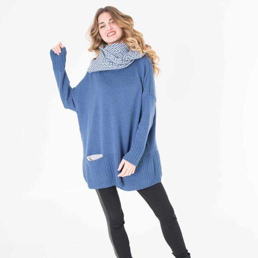 Écharpe capuche chaud et à la mode pour l'automne et l'hiver