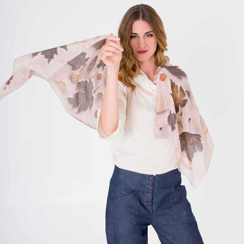 foulard ecoprint